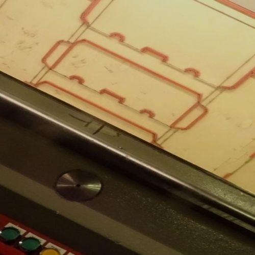 diecut prototype square