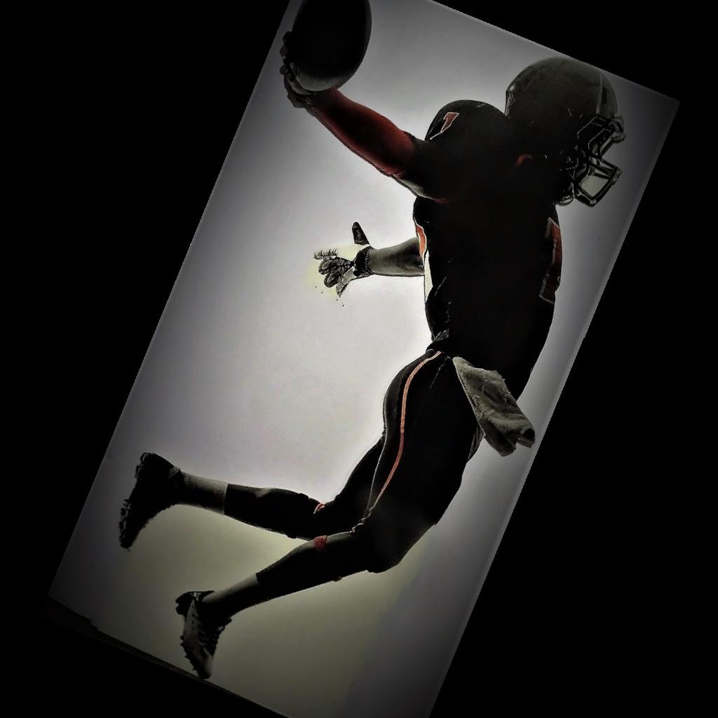 football player cutout